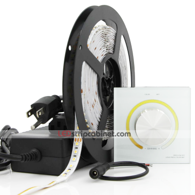 Tunable White Color Temperature Changing 24V LED Strip Light Kit