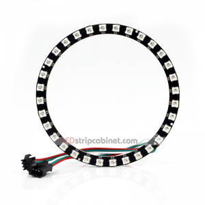 NeoPixel Ring - 32 X 5050 RGB LED With Integrated Drivers
