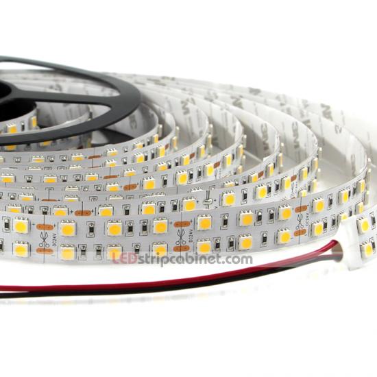 Dual Row 24v Led Strip Lights 3 Chip Smd 5050 Lsc 2nfls X600s