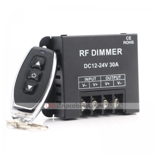 Single Color LED Dimmer - Wireless RF Remote Controller -30 Amps