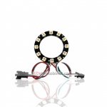 NeoPixel Ring-12 x 5050 RGBW LED w/Integrated Drivers,Warm White