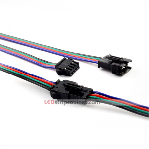 4 PIN RGB Connector Cable JST Pigtail Connector