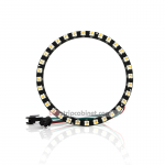 NeoPixel Ring-32 X 5050 RGBW LED W/Integrated Drivers,Warm White
