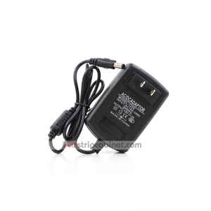 Wall-Mounted AC Adapter - 12 VDC Power Supply - 12-36W