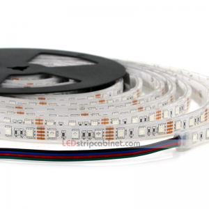 Waterproof RGB LED Strip Light - 12V LED Tape IP68,97 Lumens/ft.