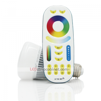 MiLight WiFi Smart 8W RGB+CCT LED Bulb with Touch Remote