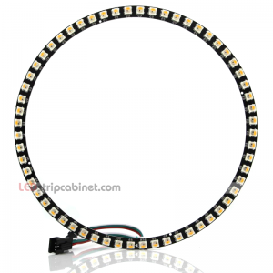 NeoPixel Ring-60 X 5050 RGBW LED W/Integrated Drivers,Warm White