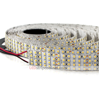 Bright LED Strip Lights - High CRI 24V Quad Row LED Strip