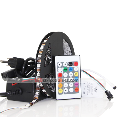 RGB LED Strip Kit-Color Chasing 5V LED Tape Light ,18 SMDs/ft.