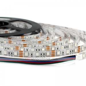 Outdoor RGB LED Strip - Weatherproof 12V LED Tape,244 Lumens/ft.
