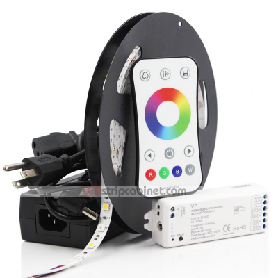 RGBW LED Strip Kit,12V LED Tape Multicolor LEDs,265 Lumens/ft.