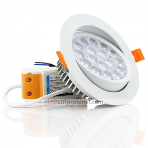 9W RGB+CCT LED Ceiling Spotlight - Dimmable - 700 Lumens