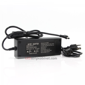 Desktop AC Adapter - 24 VDC Switching LED Power Supply - 120W