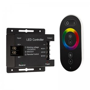 RGB LED Controller - Wireless RF Touch Color Remote