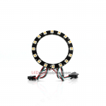 NeoPixel Ring-16 x 5050 RGBW LED w/Integrated Drivers,Warm White