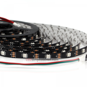 Color Chasing 5V NeoPixel Digital RGB LED Strip Lights - 150LEDs
