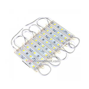 5050SMD 3 LED Module String Waterproof IP68 DC12V - 20pcs