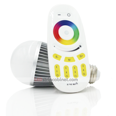 MiLight WiFi Smart RGBW LED Bulb-85 Watt Equivalent,850 Lumens